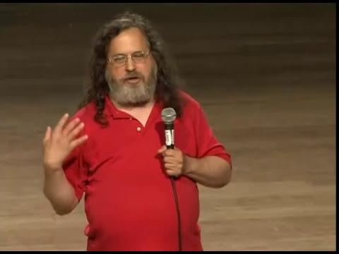 Richard Matthew Stallman en el Perú conferencias 2012
