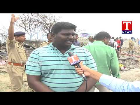 Public about Warangal Fire Accident at Bhadrakali Fireworks | T News Telugu