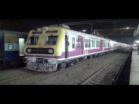 Brand New ICF Swanky Stainless Steel Local Train captured at...