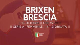 Serie A1F [4^ giornata]: Brixen - Brescia 32-25
