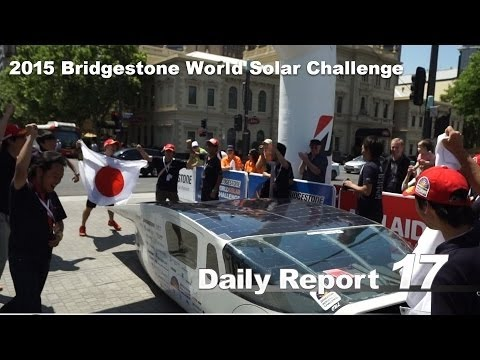 Daily Report 17 – 2015 Bridgestone World Solar Challenge