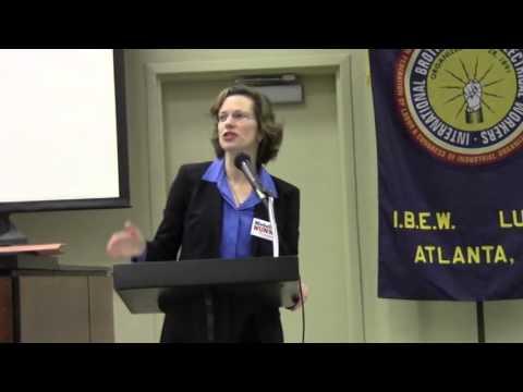 Michelle Nunn Candidate for US Senate @ DPG - 2014-02-08