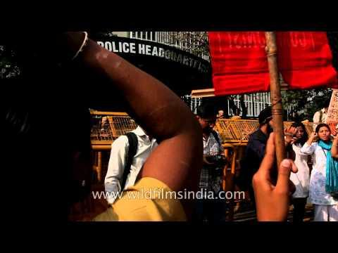 Delhi protests the rape of a child