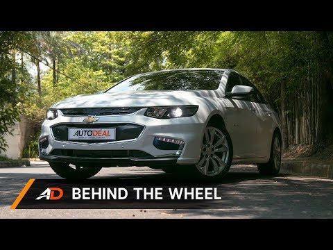 2018 Chevrolet Malibu AT LTZ Review - Behind the Wheel