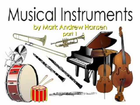 Orchestral Musical Instrument Sounds #1 for Children Kids Toddlers Kindergarten Preschoolers