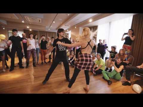 Kamacho + Anastasia - Russian Zouk Congress 2016 - Demo 3