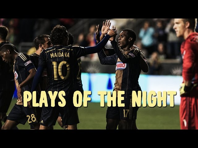 Nifty cutbacks and great team play highlight Week 32 | Plays of the Night