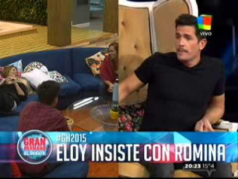 Gran Hermano 2015: Eloy insiste con Romina y se pone insoportable