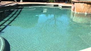 Ripples in a pool