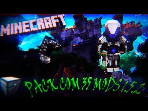 pack de minecraft 1.5.2 com 35 mods!