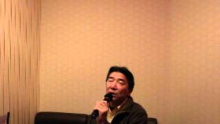 カラオケ練習曲 加山雄三「恋は紅いバラ」20111224