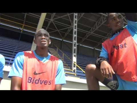 Sibusiso Vilakazi, Ryan Chapman, Lehlogonolo Masalesa and Patrick Phungwayo Bafana Bafana Interview