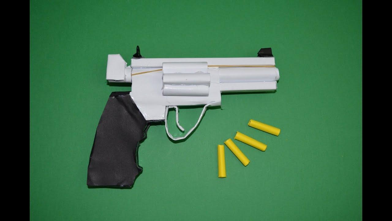 Как сделать револьвер который стреляет