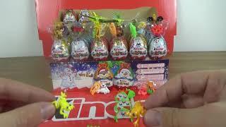 6 Kinder Surprise Eggs Christmas Edition - 4th row