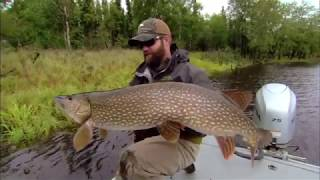 Giant Yukon Pike-- What an Adventure-- More from Season 42!