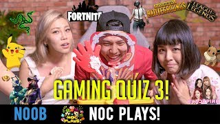 NOC Plays: Gaming Quiz Vol.3! (Pie Face Challenge)