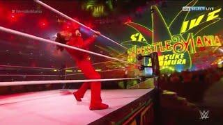 Shinsuke Nakamura Epic Entrance Wrestlemania 34 LIVE REACTION
