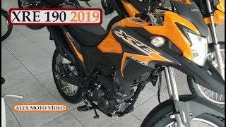 NOVA XRE 190 ABS 2019!!