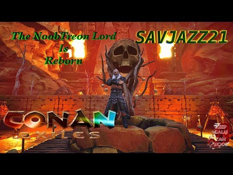 Conan Exiles: Gaming Mike Server NoobTreon Lord Clan Work Yall! EP 1