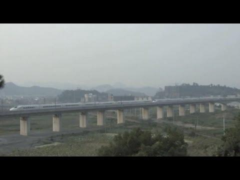中����温���2011年温������������場�����CRH1A�CRH2B�CRH1B�CRH1E�CRH2A���2011年9�17��影�