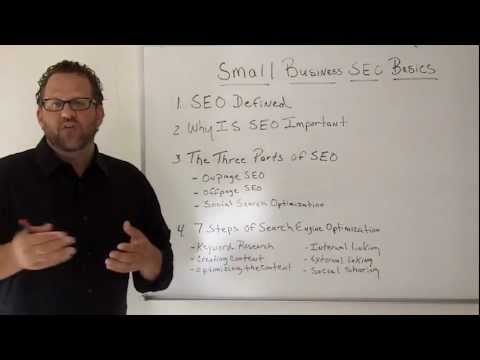 Small Business SEO-The Beginners Guide To Small Business Internet Marketing-Episode 5