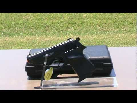 9mm Blank Firing PPK Replica Pistol.mpg