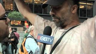 Interview with anti-Jewish protester pt 2