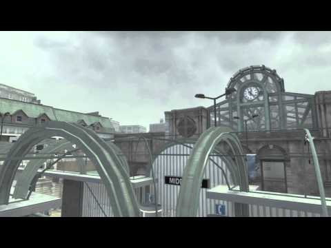 Modern Warfare 3: Epic throwing knife across!