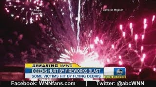 Simi Valley Fireworks Accident Caught on Tape