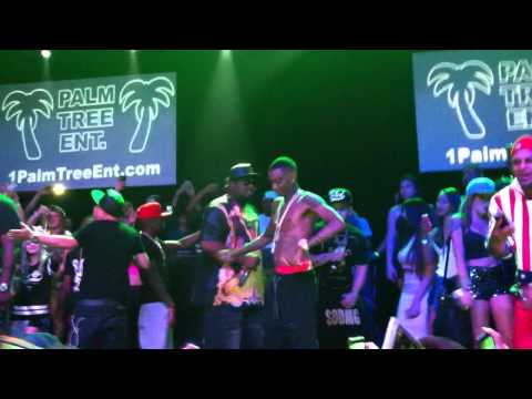 Soulja Boy Live Brazil 2015 - Crank That - Via Marques