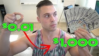 How To Turn $0.01 To $1,000 FAST With No Skill