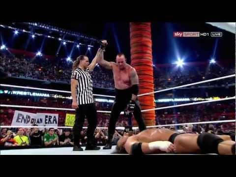 WWE Superstars Review The Undertaker vs Triple H Match at WrestleMania...