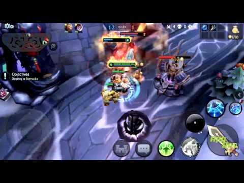 Robocop en un MOBA para Android (Gameplay de MOBA Legends Robocop Live)