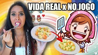 SEGUI UMA RECEITA DO COOKING MAMA - POTATO SALAD