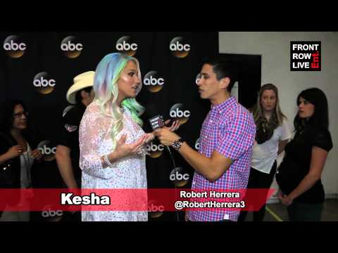 Kesha talks writing music with her mom & Rising Star w/ @RobertHerrera3