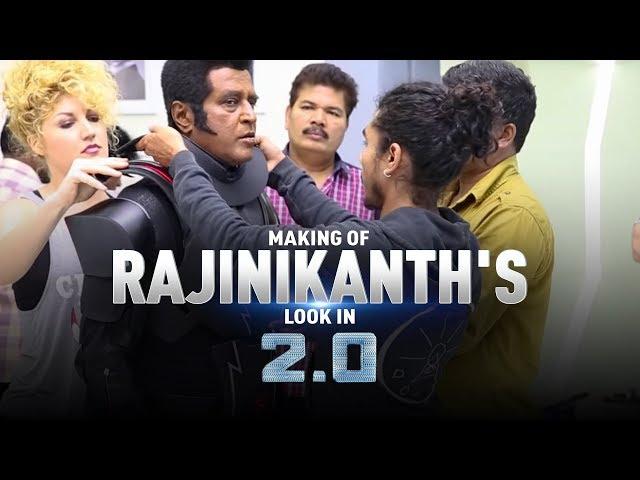 Making of Rajinikanth's look in 2.0 | S. Shankar | Akshay Kumar thumbnail