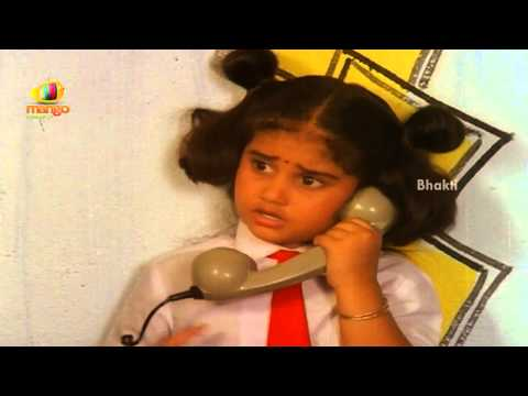 Sindhoora Devi Movie Scenes - Baby Shamili Making A Call - Vivek, Kanaka video