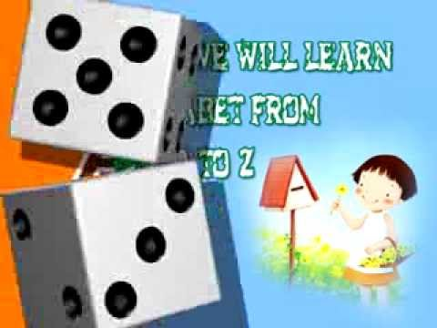 Learning Abcd For Children   Rhymes And Alphabet   Nursery video