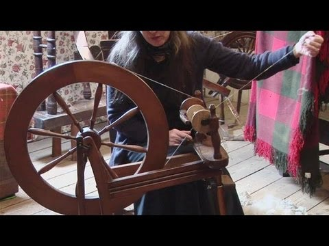 How To Prepare A Spinning Wheel for Yarn Making
