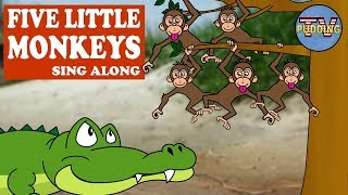 Five little Monkeys - Sing Along | Kids Songs