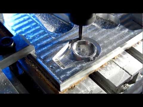 CNC-6040 Machining Aluminium