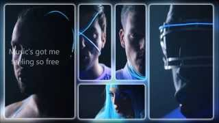 Pentatonix - Daft Punk (HD LYRICS VIDEO)