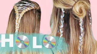 Wearable Holographic Hairstyles! - KayleyMelissa