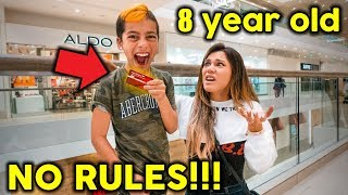 8 Year Old Kid Is The BOSS For 24 Hours **NO RULES** | The Royalty Family