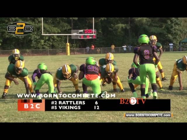 B2C: #2 Gresham Park Rattlers vs #5 Atlanta Vikings - 10U Division