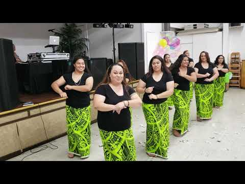 Oct2018 Siva Samoa(50th Birthday Party SIO MAUGA)• MaugaGirls•Maugaville Hawaii