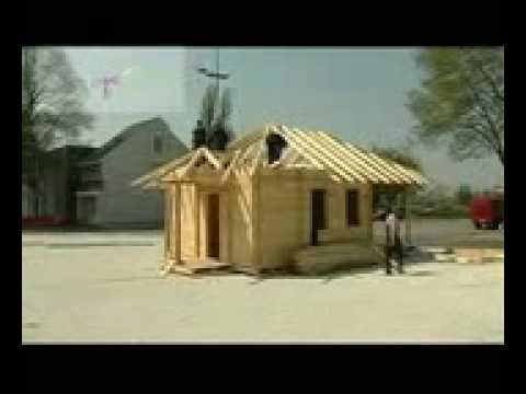 Izgradnja drvene brvnare PARK HOUSE, Drvo Trade NV doo