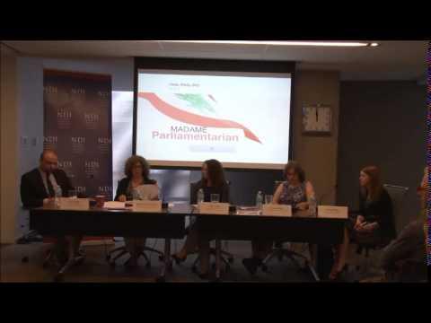 Madame Parliamentarian Panel Discussion