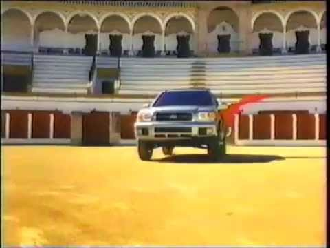Nissan Pathfinder commercial (2001)