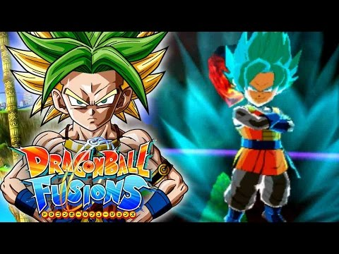 THE UNKNOWN POWER OF EX GOGETA BLUE!!!   Dragon Ball Fusions JPN StreetPass Fusions Gameplay!